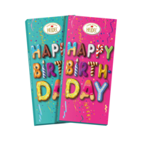 Happy Birthday 3D Choco-Grüße - 40641